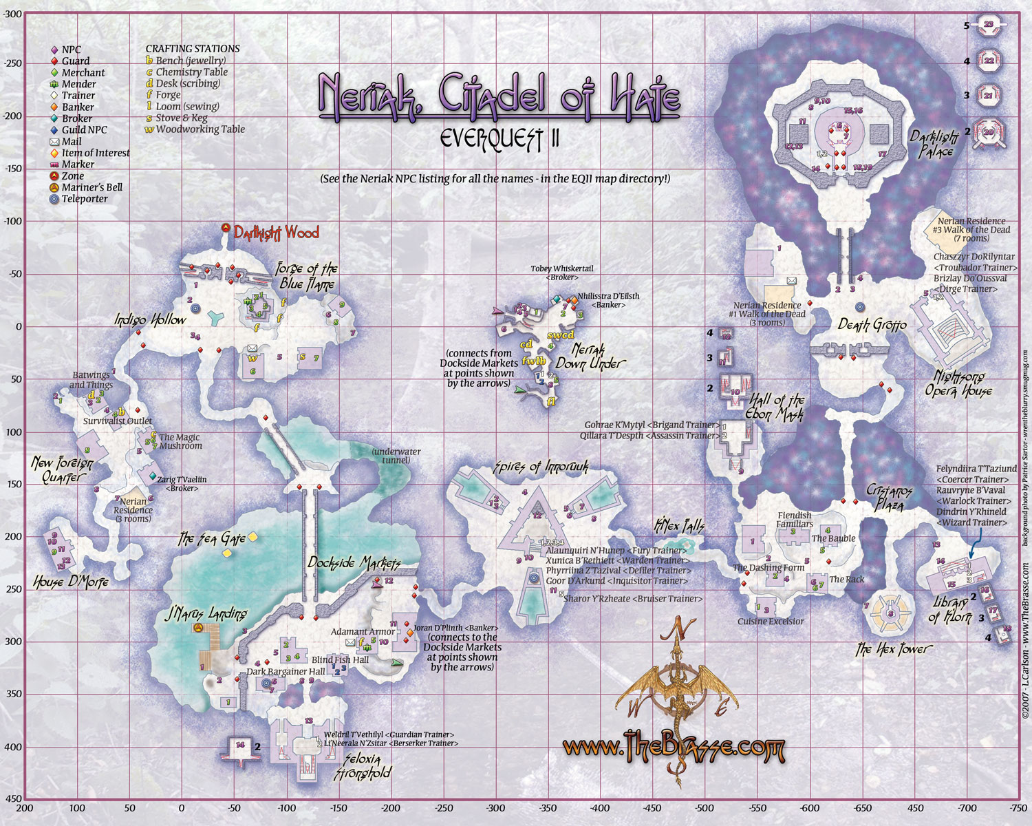 Everquest Maps