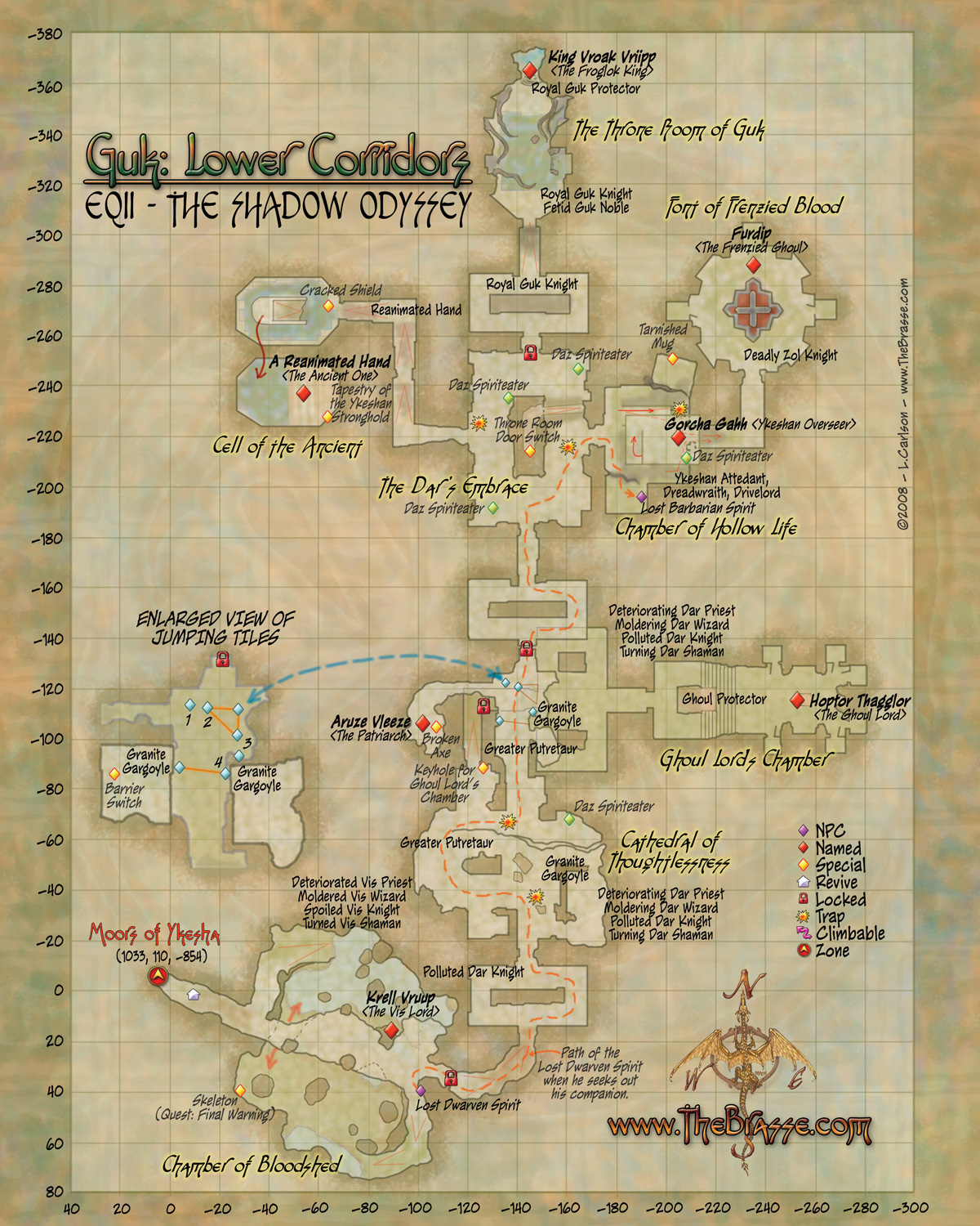 eq2 map guk lower corridors guk lower corridors
